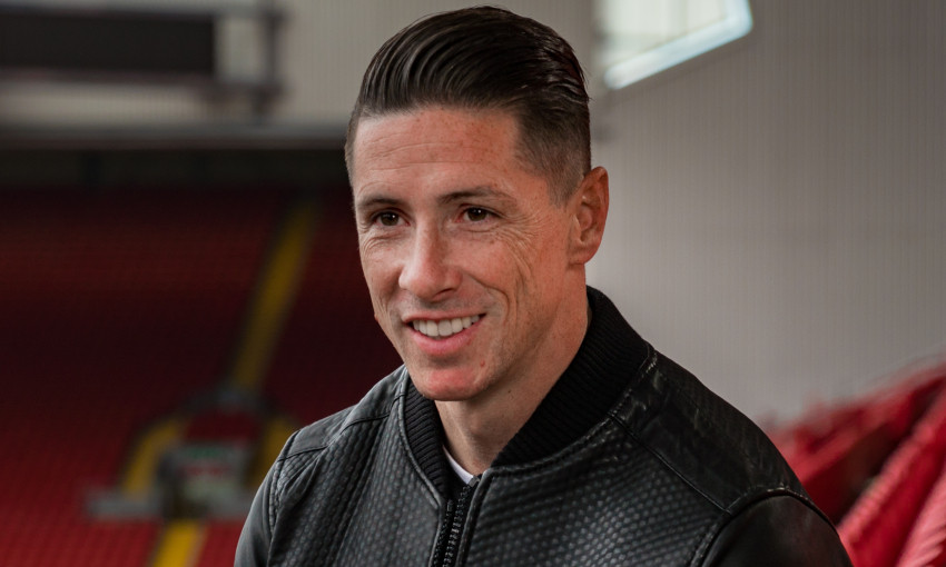 Fernando Torres at Anfield