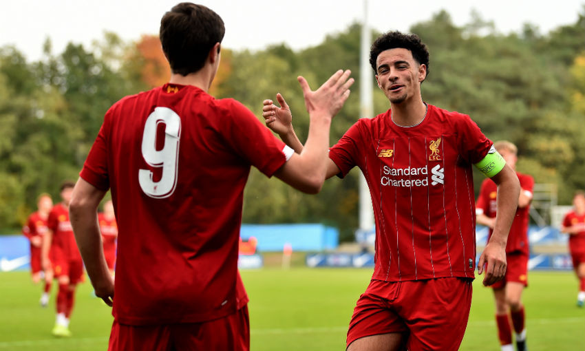 Liverpool U19s UEFA Youth League Genk