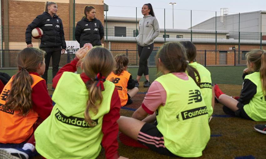 LFC Foundation relaunches Premier League Kicks