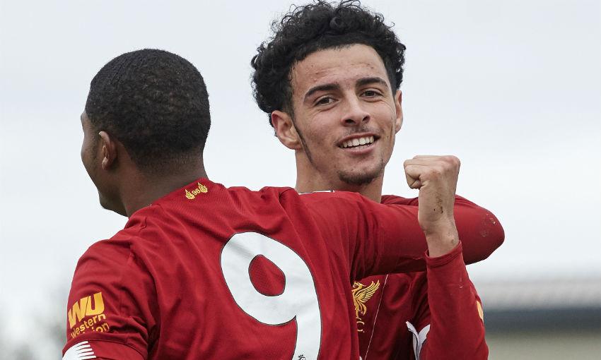 Curtis Jones of Liverpool FC