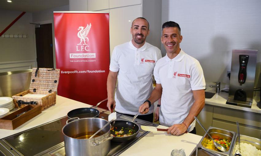 Luis Garcia and Jose Enrique