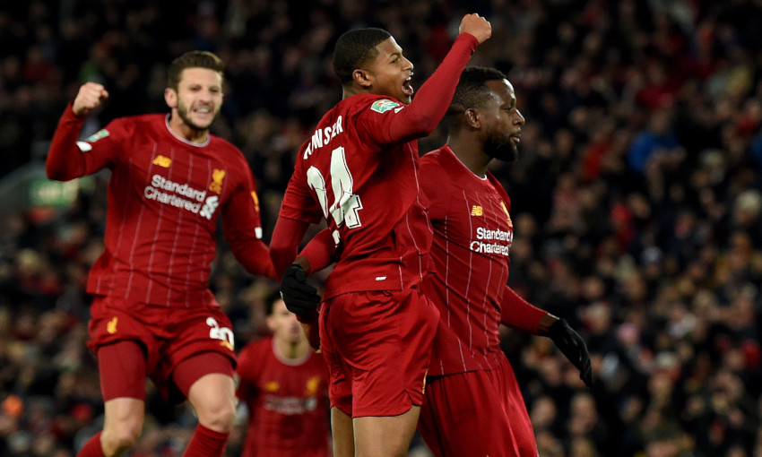 Liverpool v Arsenal, Carabao Cup