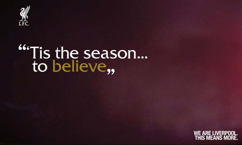 Liverpool FC Christmas advert part one