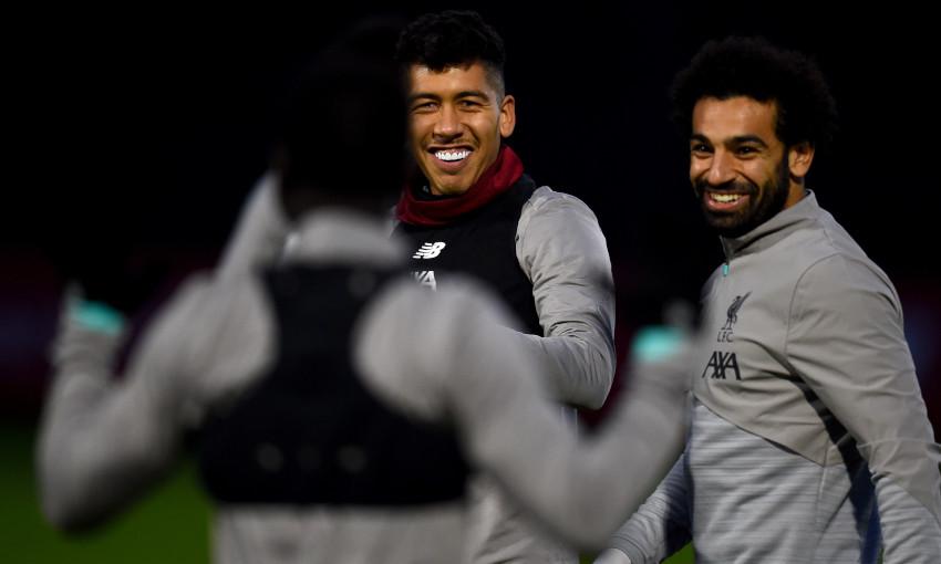 Liverpool's pre-Genk training - November 4, 2019