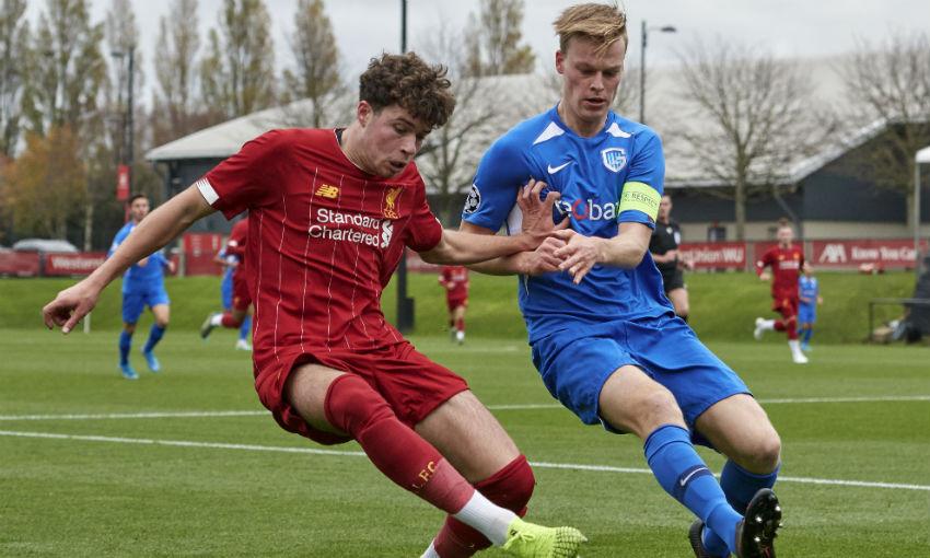 Liverpool U19s v Genk