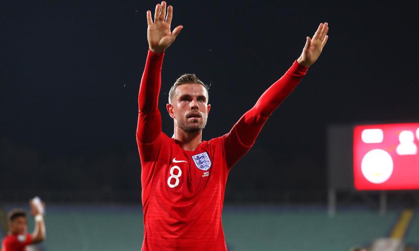 Jordan Henderson for England