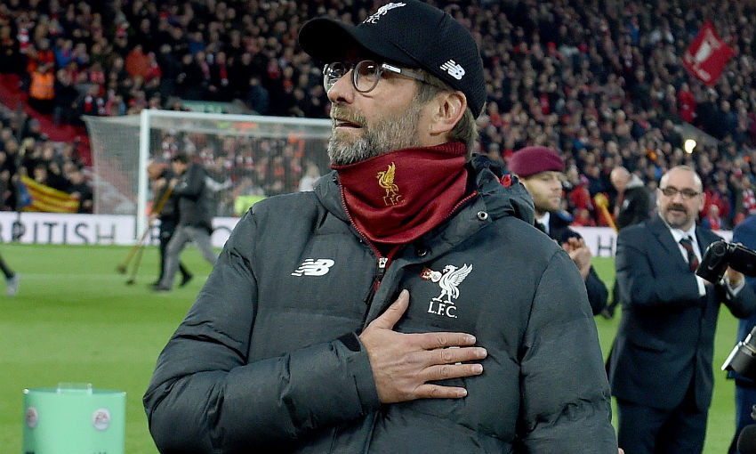 Klopp: We couldn't have asked for a better situation, but it's only the start