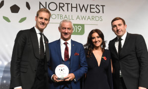 Ian Rush at 2019 Northwest Football Awards