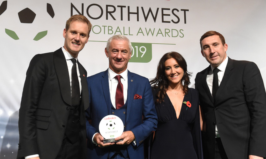 Ian Rush at 2019 Northwest Football Awards
