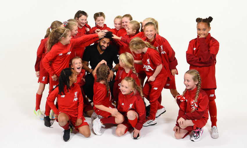 Mohamed Salah features in Kop Kids