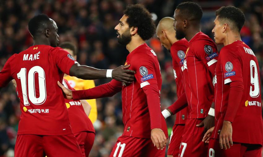 Sadio Mane: I feel so lucky to play alongside Mo and Bobby