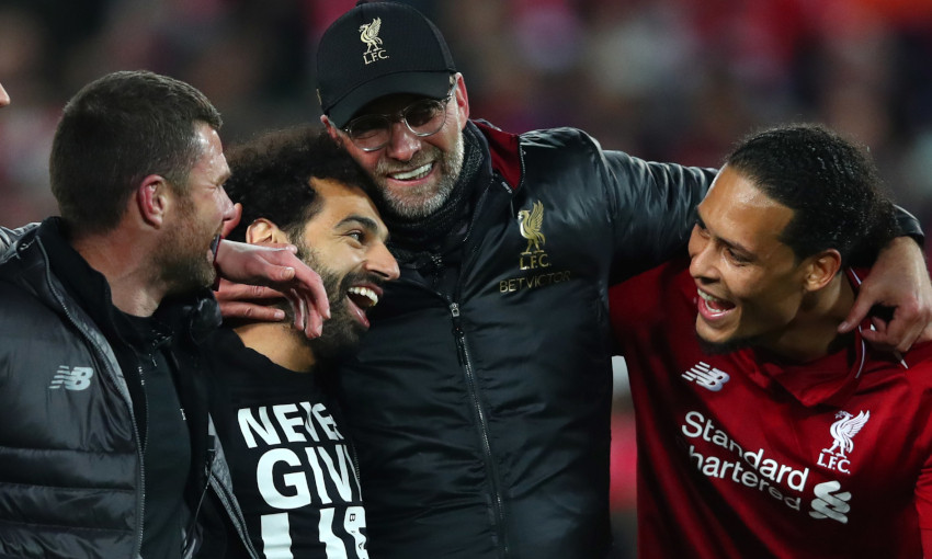 Jürgen Klopp nominated for Great Coaching Moment of the Year