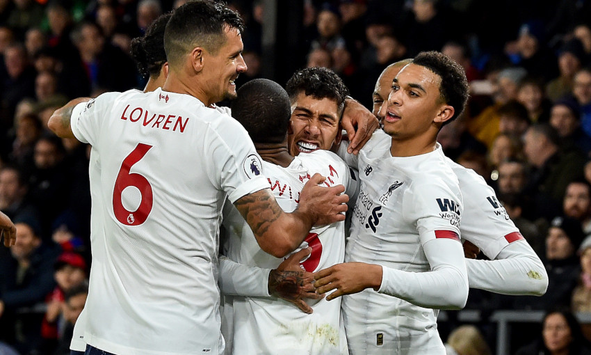 Crystal Palace v Liverpool - November 23, 2019