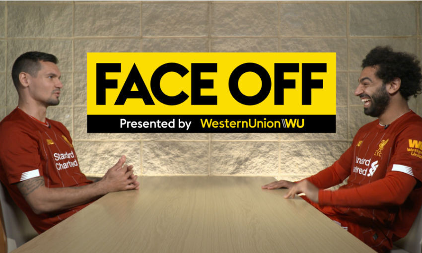 Western Union's Face Off with Mohamed Salah and Dejan Lovren