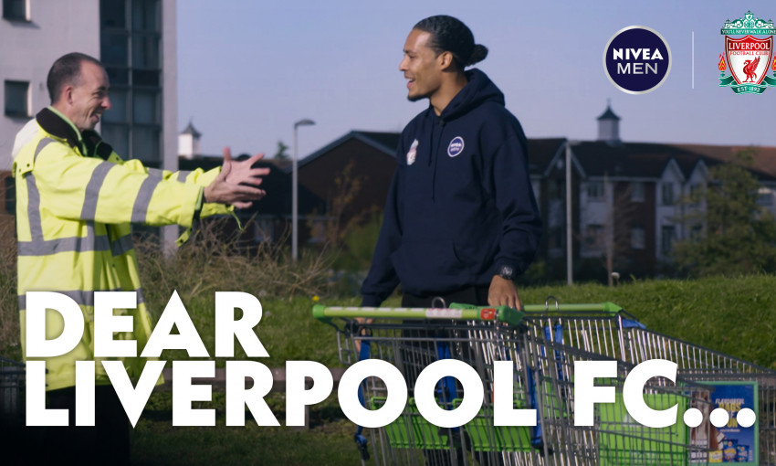 Virgil van Dijk in NIVEA MEN's Dear Liverpool...
