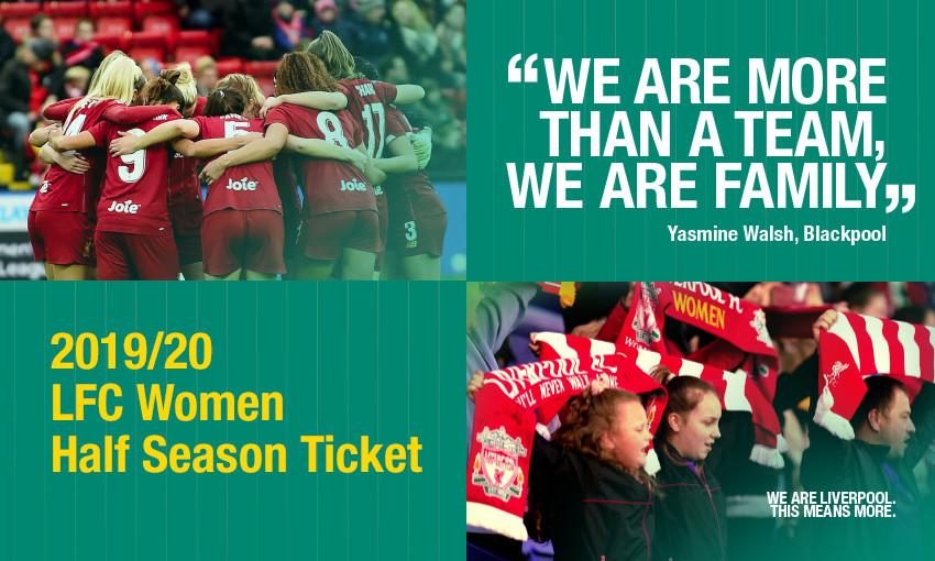 LFC Women half-season tickets