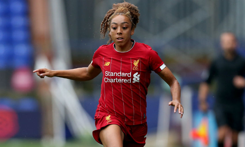 Jess Clarke of LFC Women
