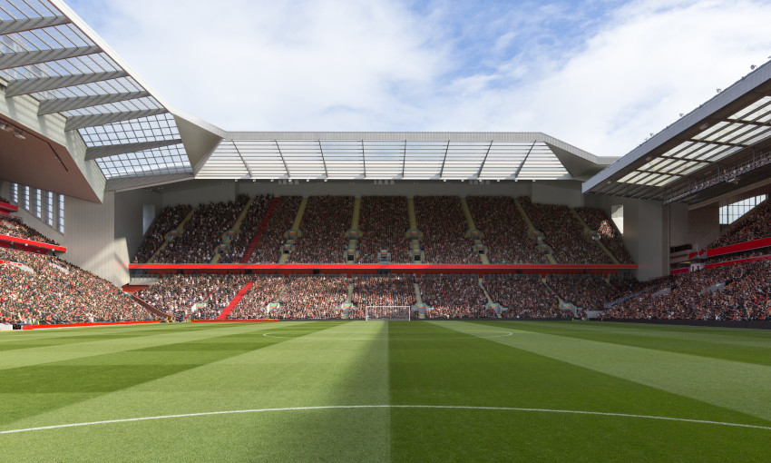 Anfield Road Stand development