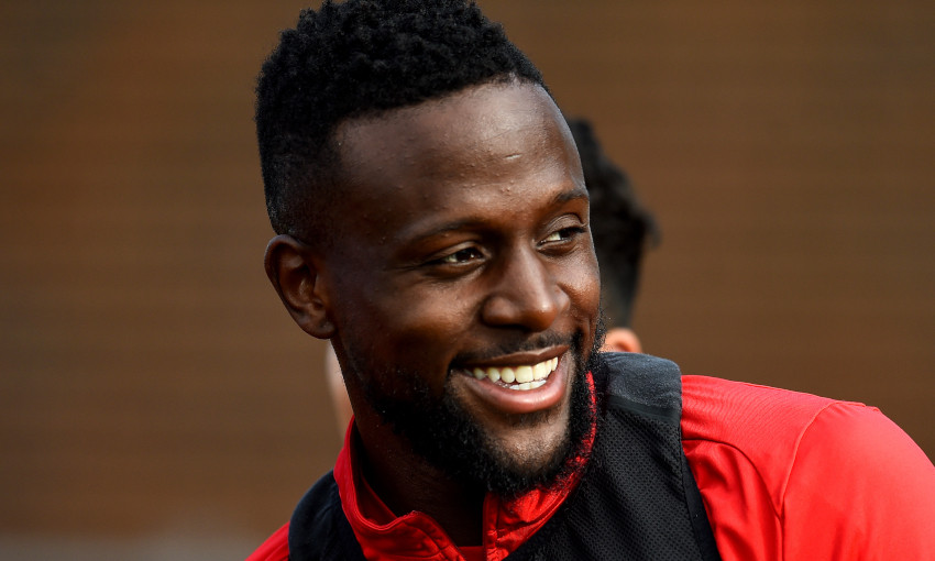 Divock Origi at Melwood