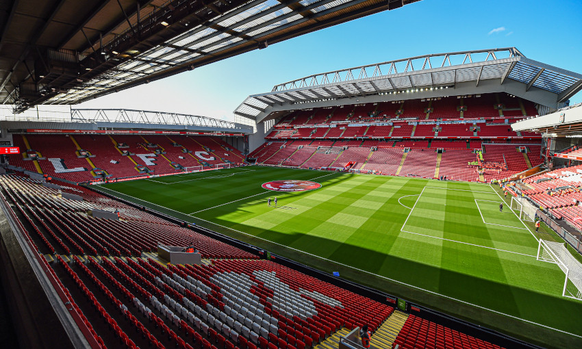 General view of Anfield