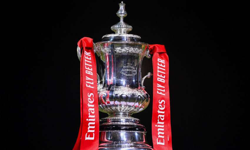 FA Cup trophy