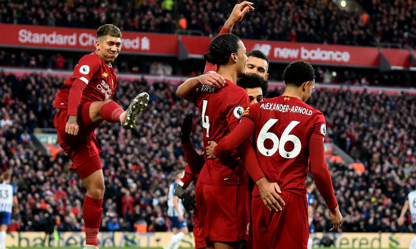 Image result for liverpool celebrate