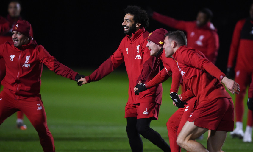 Liverpool's pre-Everton training - December 2, 2019
