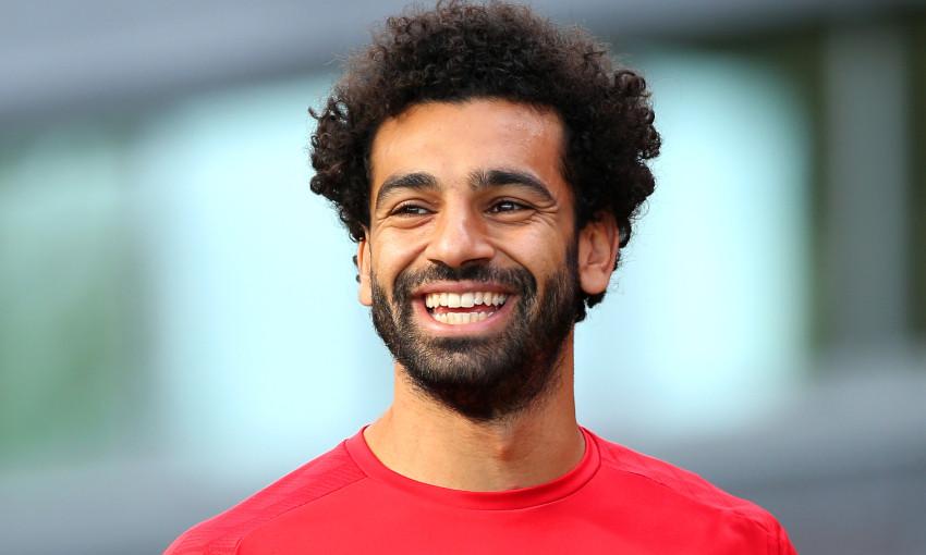 Mohamed Salah at Melwood