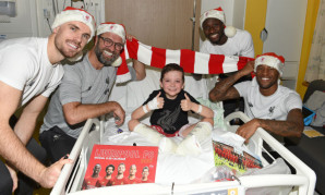 Liverpool FC Alder Hey Christmas visit, 2019