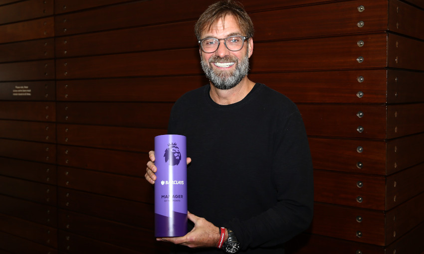 Jürgen Klopp wins Premier League Manager of the Month for November 2019
