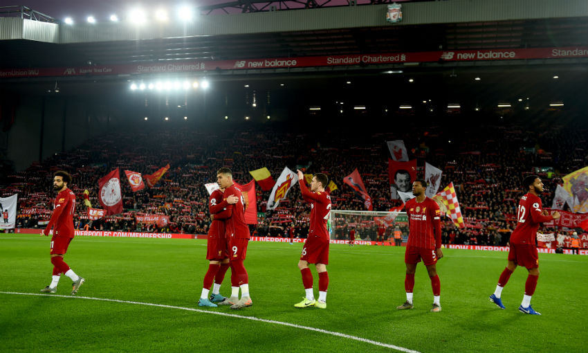 Liverpool v Wolves at Anfield