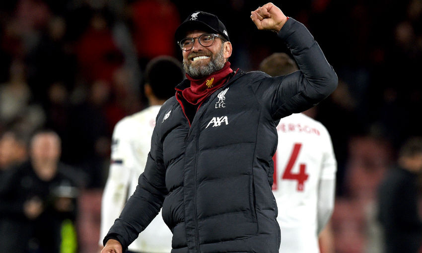 Jürgen Klopp receives Premier League Manager of the Month nomination