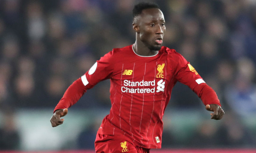 Naby Keita of Liverpool FC