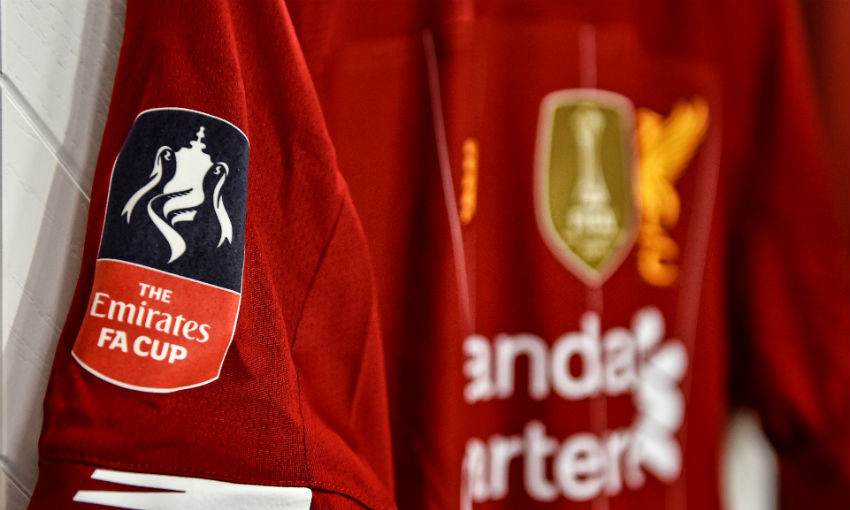 Liverpool FA Cup home shirt
