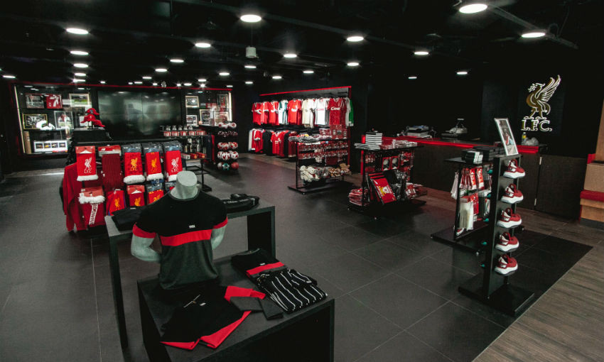 LFC store in Singapore - Liverpool FC