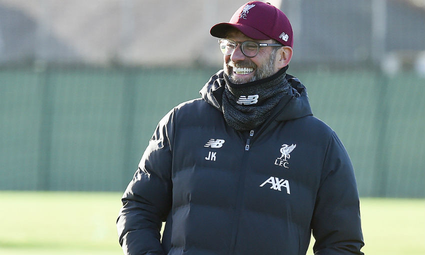 Liverpool FC training session, Melwood - January 15, 2020