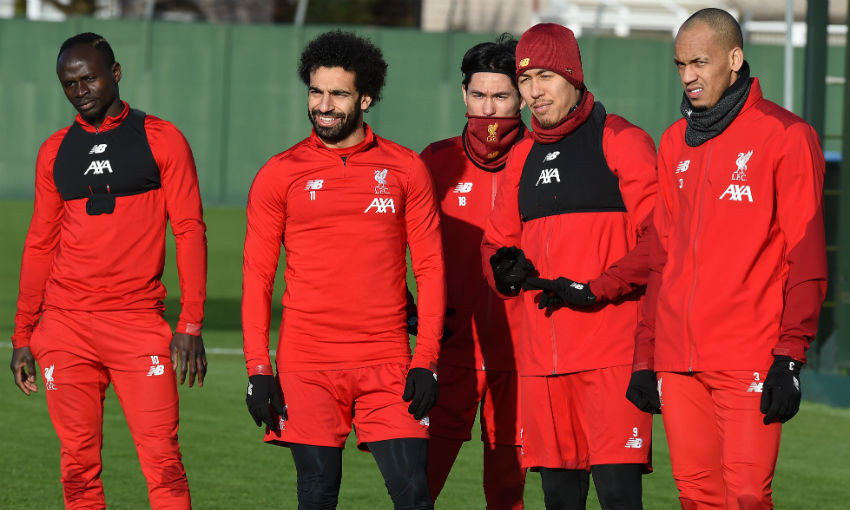 Liverpool FC training session, Melwood - January 15, 2020