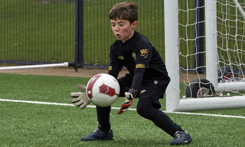 LFC Soccer Schools' goalkeeping course