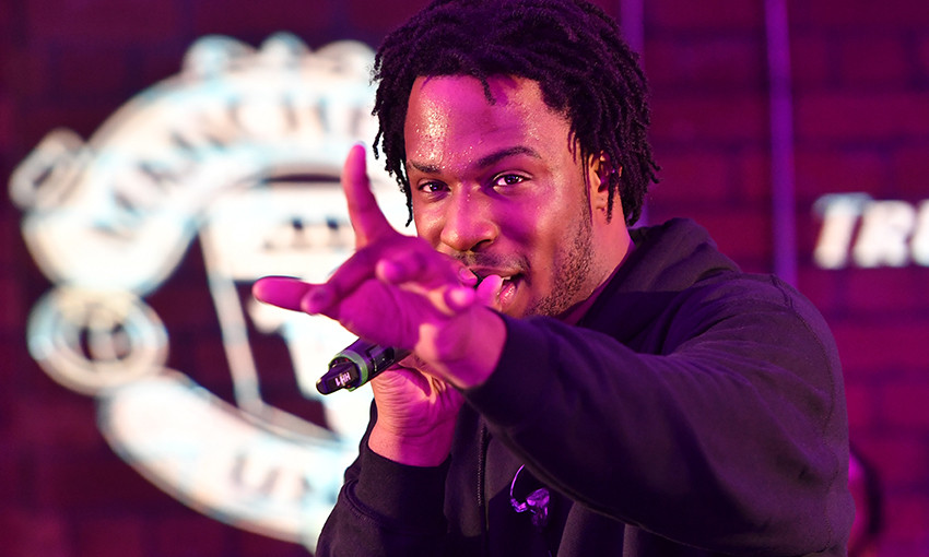 UK rapper and Manchester United fan Avelino