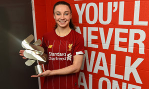 Niamh Charles wins December 2019 LFC Women Player of the Month