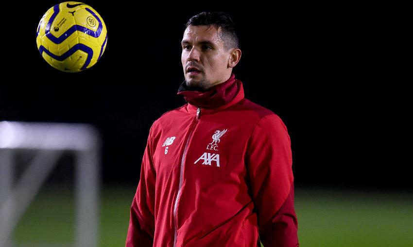Dejan Lovren of Liverpool FC
