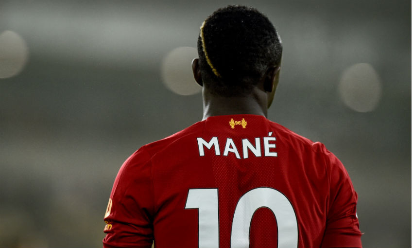 Sadio Mane of Liverpool FC