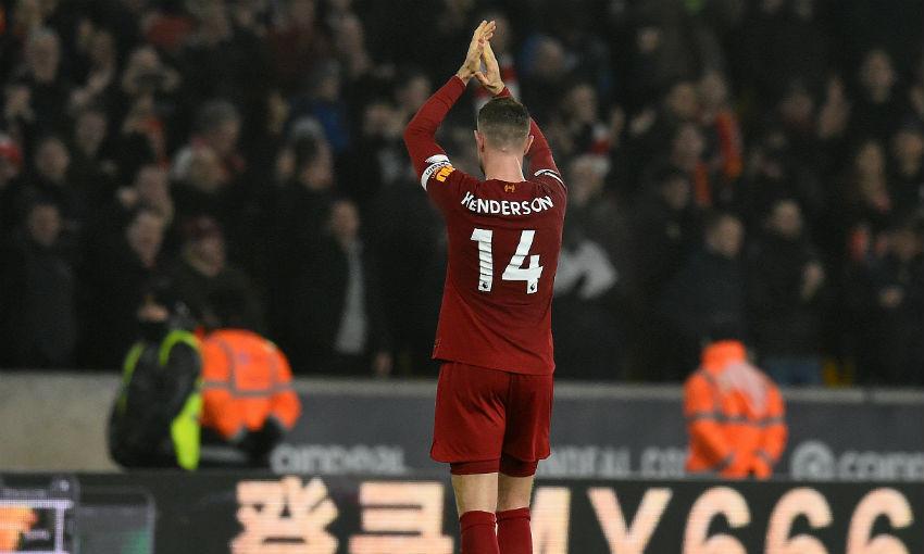 Jordan Henderson of Liverpool FC