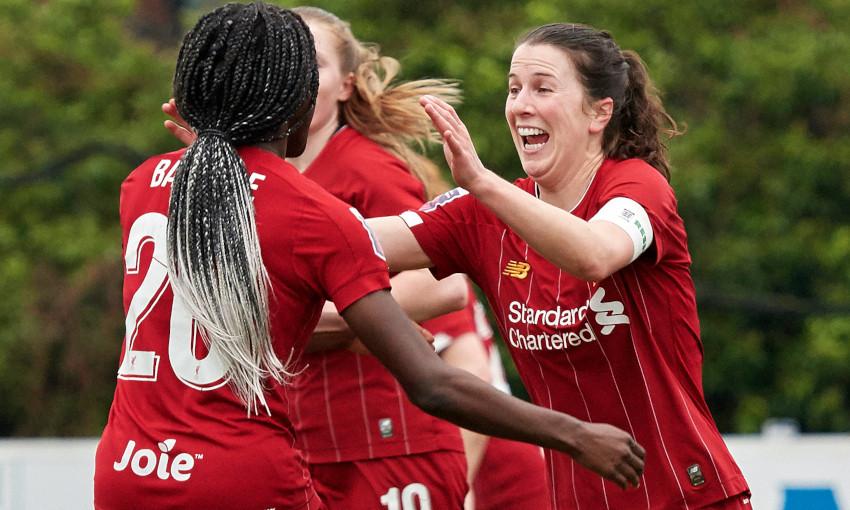 ผลการค้นหารูปภาพสำหรับ Women's FA Cup fifth round: Rinsola Babajide scores four as Liverpool thrash Blackburn