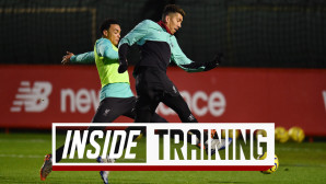 Inside Training: One-touch games, magic from Firmino & sprint races