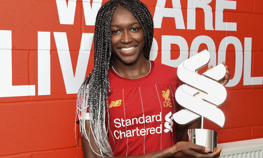 Rinsola Babajide wins LFC Women Player of the Month for January 2020