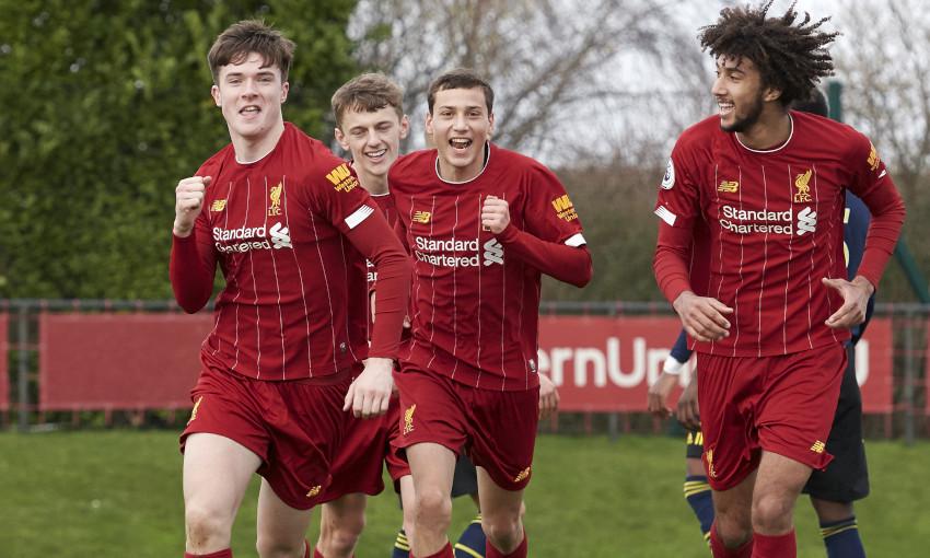 Liverpool U23s v Arsenal