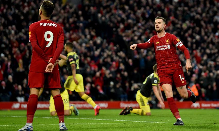 Liverpool 4-0 Southampton