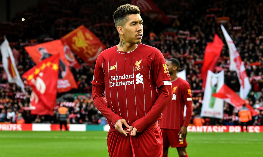 Roberto Firmino at Anfield
