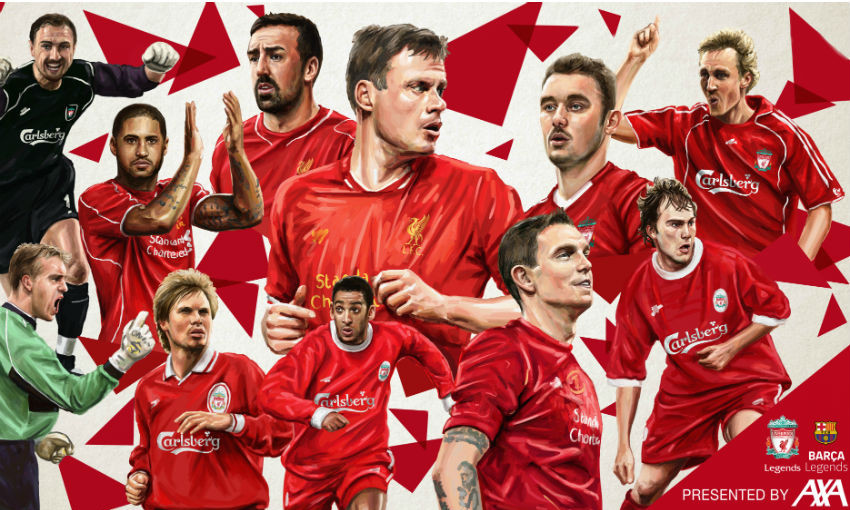 New Players Announced For Lfc Legends V Barca Charity Match Liverpool Fc